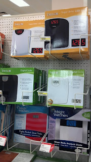 digital scales for sale at a store