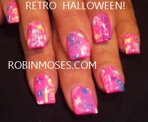 """robin moses nail art """"halloween nails"""" """"halloween nail"""