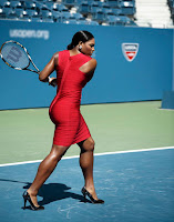 Serena Williams calves