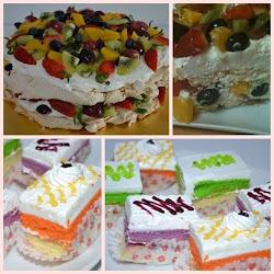 KELAS PAVLOVA DAN SLICE CAKE