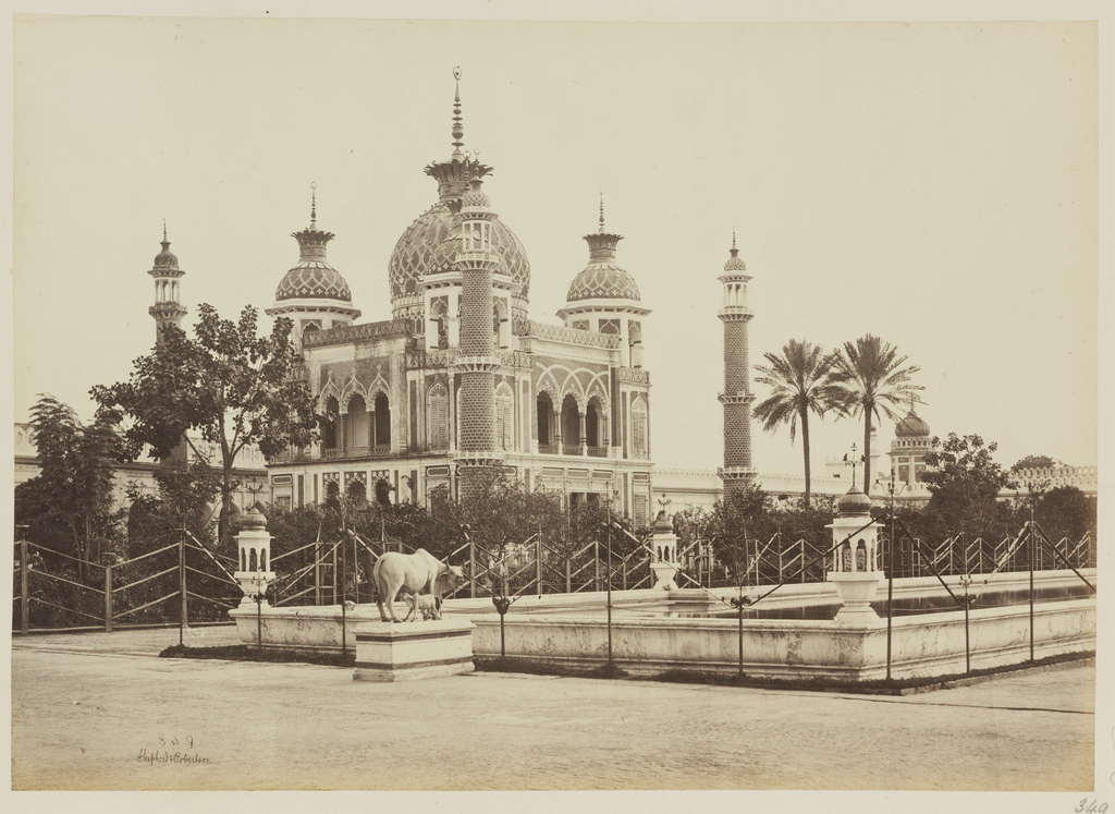 The Jawab Opposite The Tomb Of Zinat Algiya In The Husainabad Imambara Complex Lucknow 1862