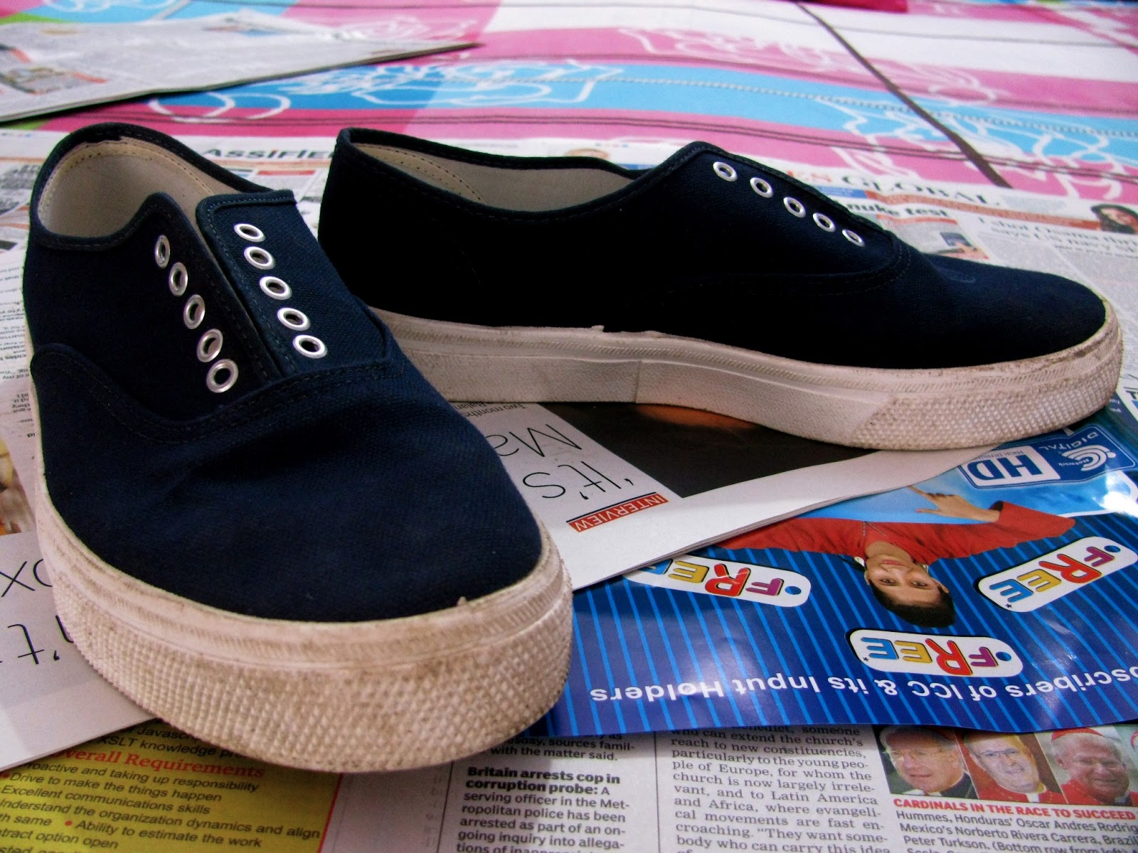 Converting Shoes From Womens To Mens