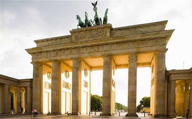La puerta de Brandenburgo