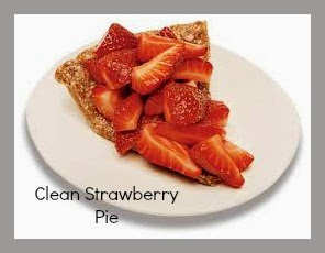 Deidra Penrose, clean eating deserts, clean strawberry pie, healthy pie recipe, agave nectar, raw almonds, top fitness coach, nutrition, weight loss repices, clean eating recipes, glycemic index, dessert for diabetics, almond crust, fitness motivation, healthy eating tips
