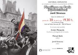 """""""Pingüinos en París (Bajo dos tricolores)"""" de Jordi Siracusa"""