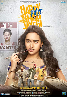 Happy Phirr Bhag Jayegi (2018) Hindi Movie DVDRip | 720p | 480p