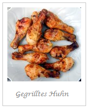 Gegrilltes Huhn