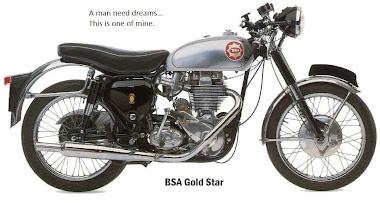 BSA Goldstar DBD34 1960