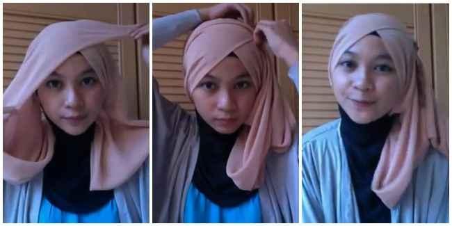 tutorial hijab utk acara pernikahan langkah style hijab utk acara ...