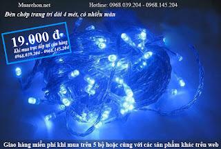 Đèn chớp tiêu loại bóng nhỏ, dài 4 mét Giá cực sốc chỉ 19. 000 đ