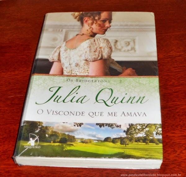 O Visconde Que Me Amava, Julia Quinn, sinopse, capa, romance, Editora Arqueiro