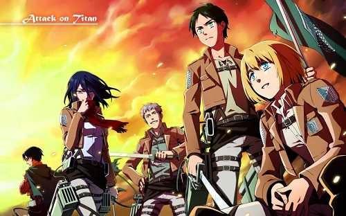 alasan kenapa anime shingeki no kyojin populer