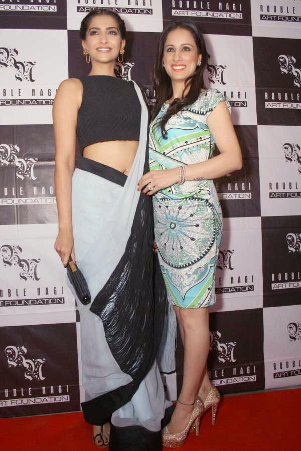 Sonam Kapoor and Rouble Nagi