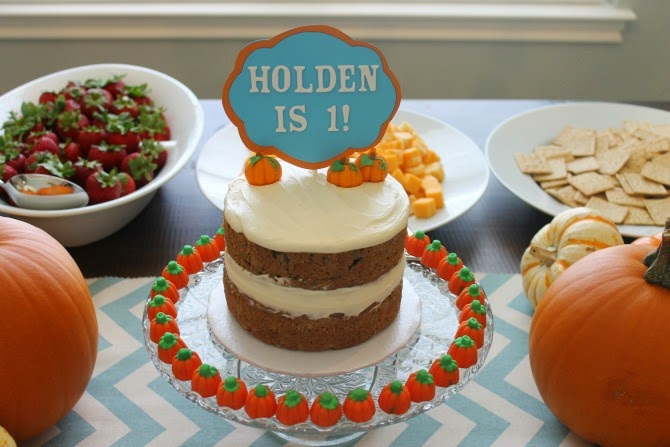 The Holland House: Pumpkin Smash Cake