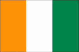 drapeau du cote d'ivoire