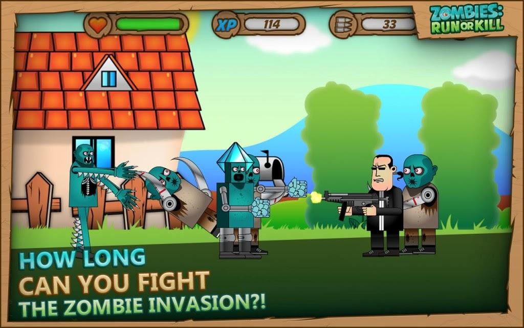 Zombies Run or Kill Apk