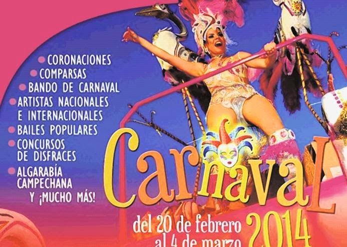 top 10 carnavales méxico 2015