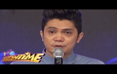 Vhong Navarro raturns in It's Showtime