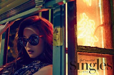 Oh Yeon Seo - Singles Magazine May Issue 2015
