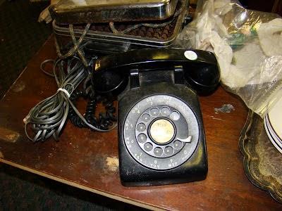 Hoe komt Area Code 615 aan de bandnaam - Vintage telefoon