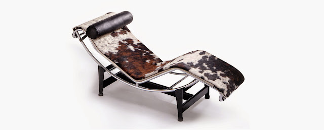 Nannasalmi horsehair jewelry le corbusier lc4 chaise lounge for Chaises longues tressees