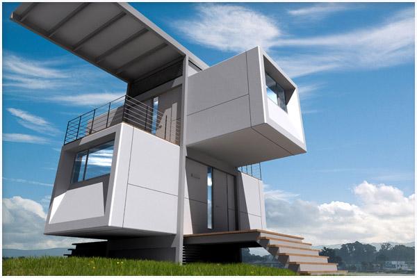 Thevoice Designs Micro Homes Zero House