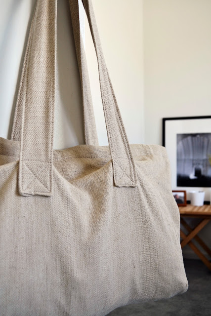 linen cotten fabric bag
