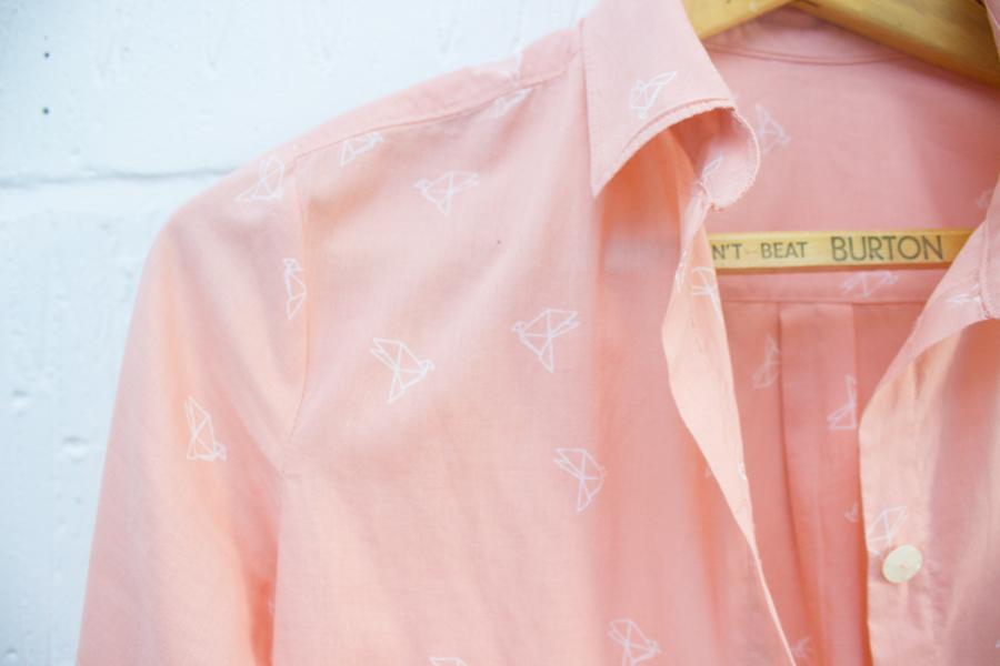 Grainline Studio Archer shirt in Atelier Brunette