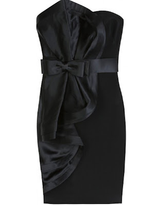 COCKTAIL DRESS WITH BOW DETAIL