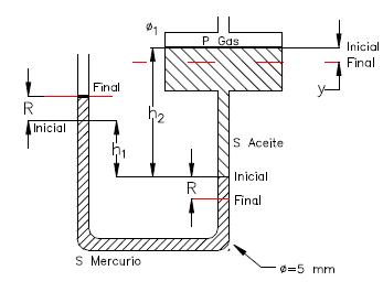 Ejercicio resuelto de estatica de fluidos imagen 1 problema 3
