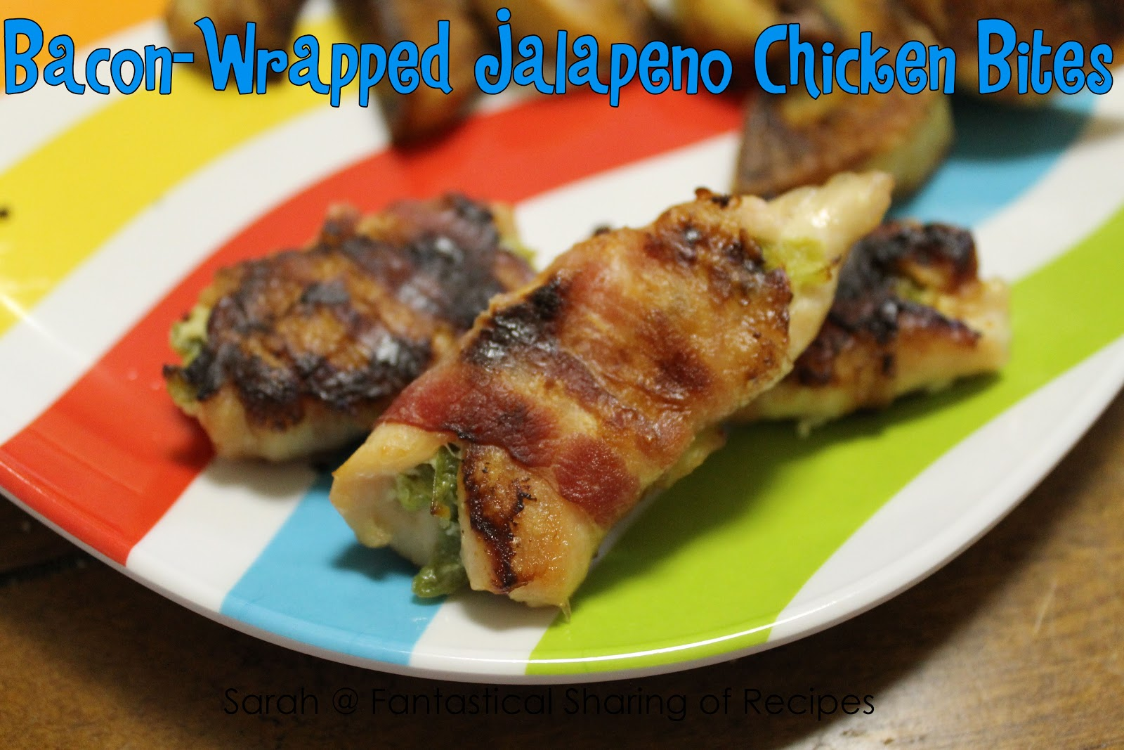 Bacon Wrapped Cream Cheese Jalapeno Bites Recipe — Dishmaps