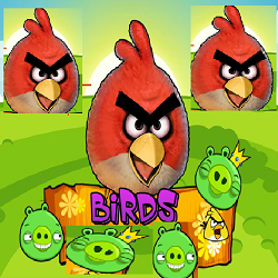 Angry Birds' Game (Gravity Based Thinking Game)