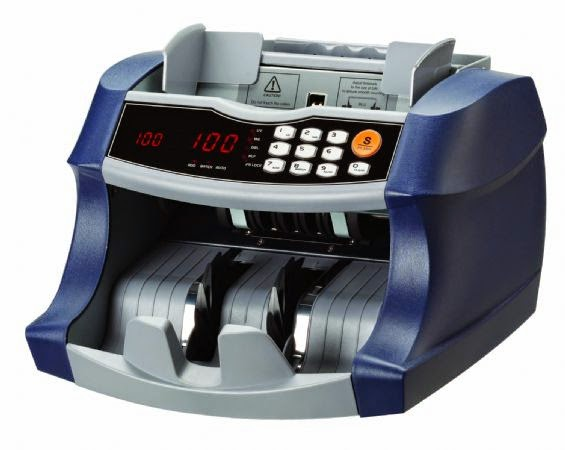 Money eating Currency Counting Machine