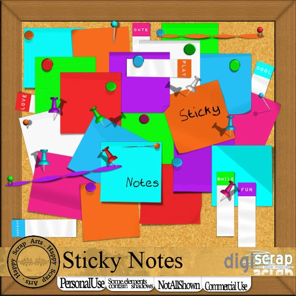 HSA Sticky Notes