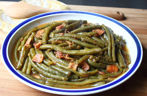 Old fashioned pole beans recipe 70