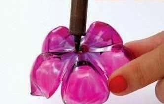 ... BekasKerajinan Tangan Dari Barang Bekas, Bunga Botol Plastik Bekas 5