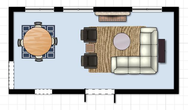 Marten design living room redesign for Redesign room layout