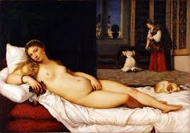 "Picture of ""Venus of Urbino"" by Titian, 1538"