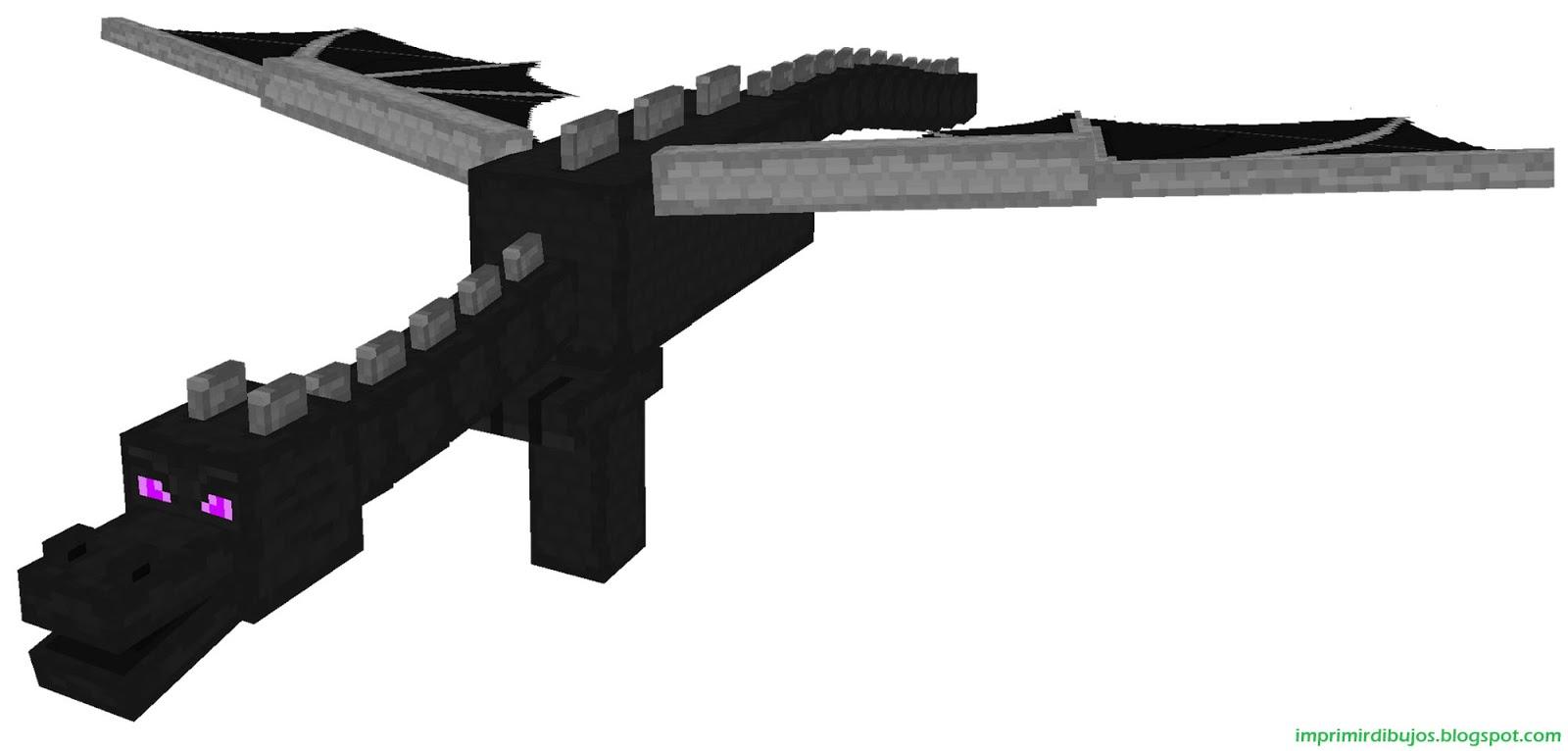 Imprimir Dibujos: Personajes de Minecraft para Imprimir