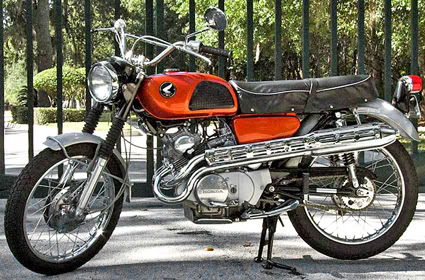 1966+Honda+CL160 honda cb160 and cl160 motorcycle complete wiring diagram all  at aneh.co