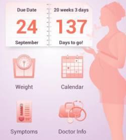 gestire gravidanza con iPhone e Android