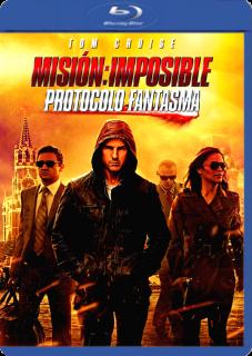 Carátula Misión Imposible 4: Protocolo Fantasma película HD 720p latino