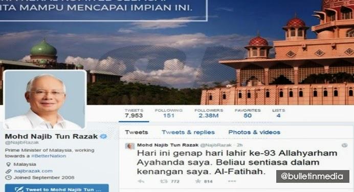 Ayah sentiasa dalam kenangan saya Perdana Menteri Datuk Seri Najib Tun Razak