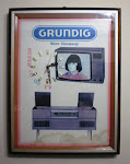 Jam dinding Iklan Grundig