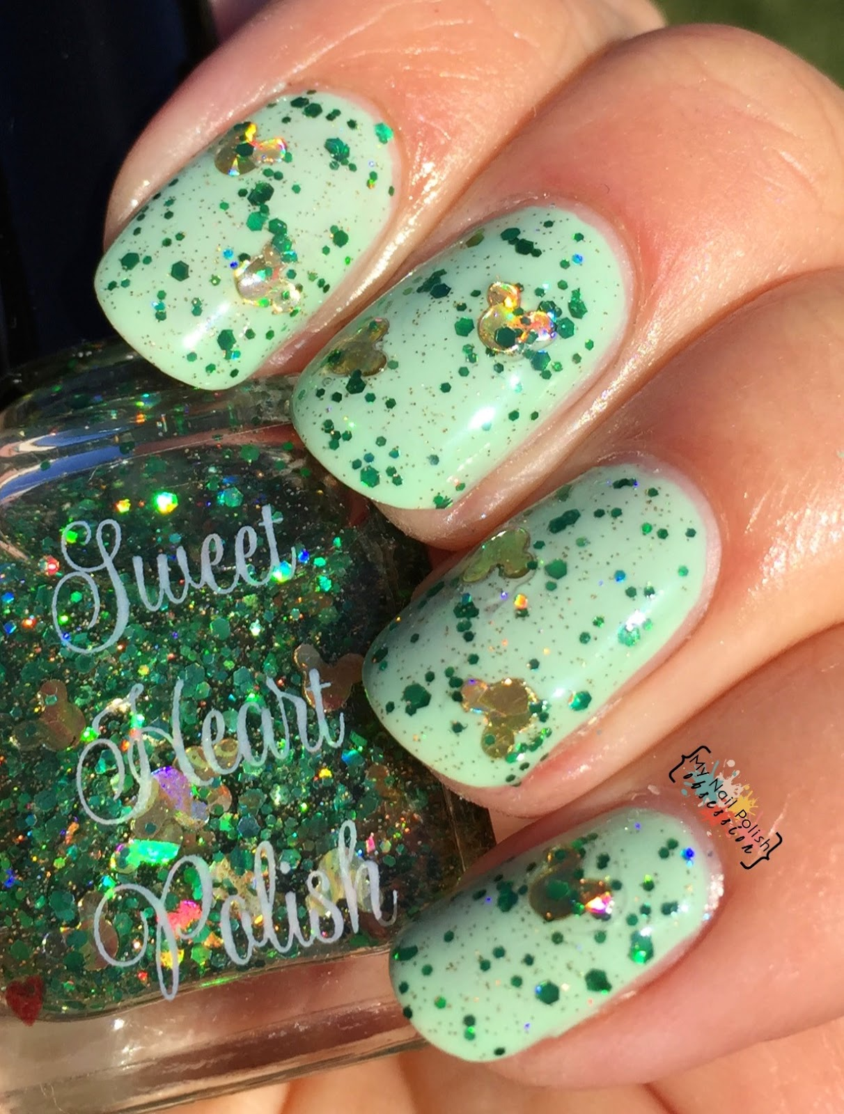 Sweet Heart Polish Sham-Rockin Mouse