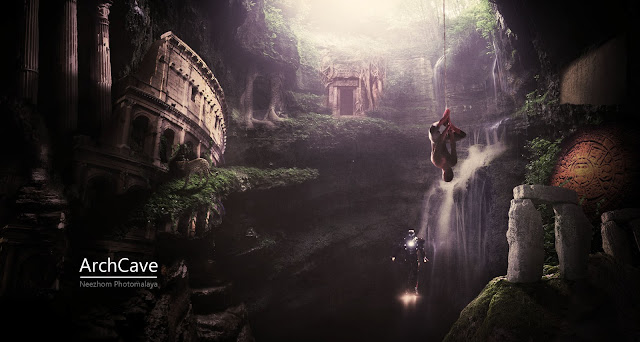 Photo Manipulation - ArchCave