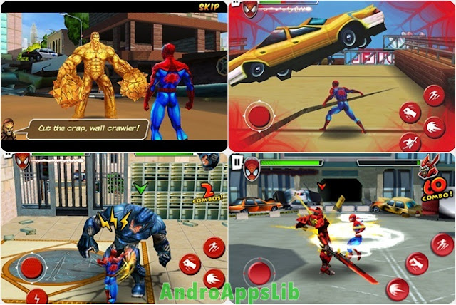 spiderman total mayhem android apk