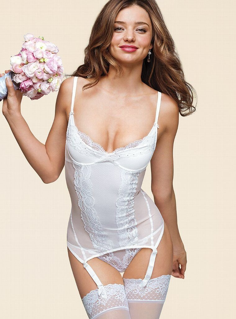 2013 lovely white bridal lingerie designs free styles