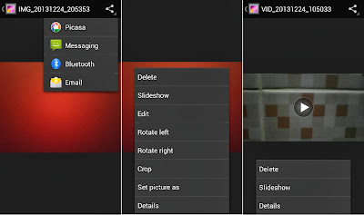 SKK Mobile Mirage S1 Gallery Options