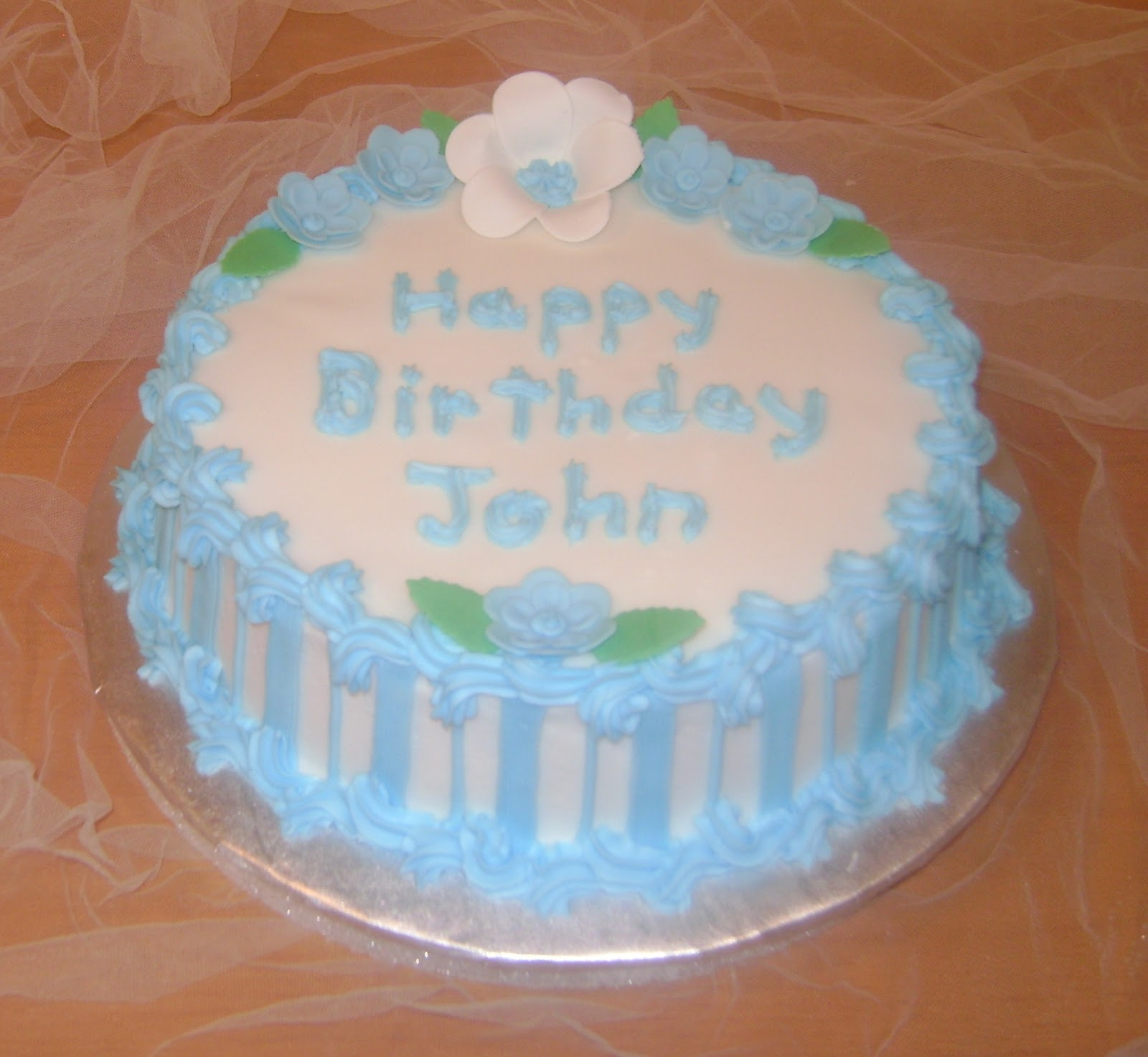 Birthday Cake For John : Marilyn s Caribbean Cakes: Happy Birthday John!